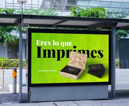 anuncio impreso