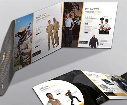 folleto corporativo